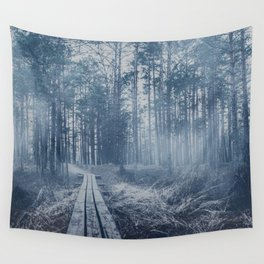 Foggy forest Wall Tapestry