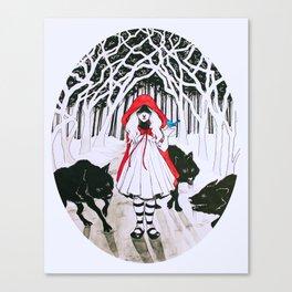 Amongst Wolves Canvas Print