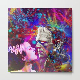 Frankenstein`s Bride Metal Print