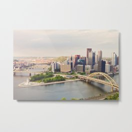 Pittsburgh, Pennsyvania Metal Print