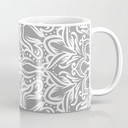 Gray Mandala Coffee Mug