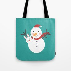 Day 21/25 Advent - Nose Installation Tote Bag