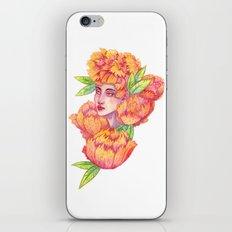 Peonies 1/2 iPhone & iPod Skin
