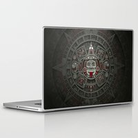 calendars Laptop & iPad Skins featuring Stone of the Sun I. by Dr. Lukas Brezak