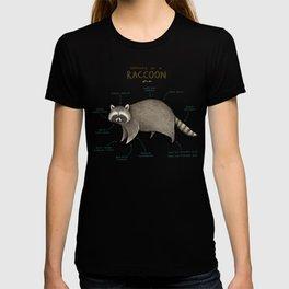 Anatomy of a Raccoon T-shirt