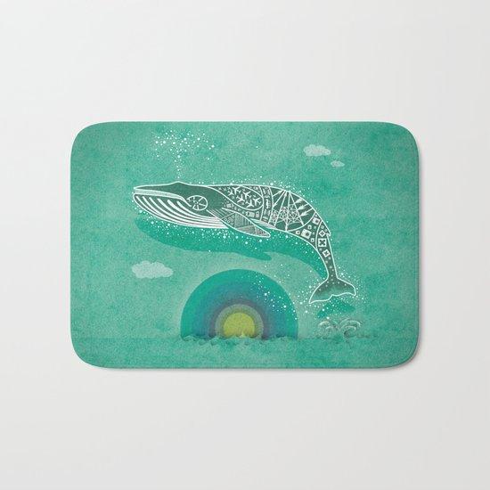 Whale Future Bath Mat