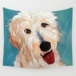 Our Dog Floyd Wall Tapestry