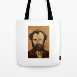 50 Artists: Edouard Manet Tote Bag