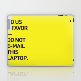 Save the planet. Laptop & iPad Skin