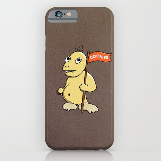 Funny Cartoon Cookie Monster iPhone & iPod Case