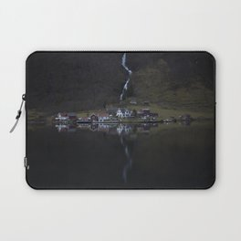 River that vanishes (Fjord) Laptop Sleeve