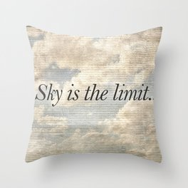 Motivational Quotes Photo Throw Pillow