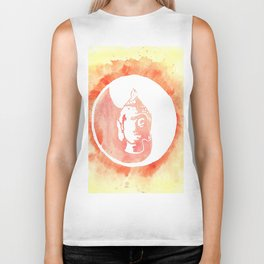 Buddha YinYang Biker Tank