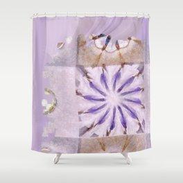 Faience Entity Flowers  ID:16165-051910-13480 Shower Curtain