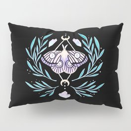 Moon Moth 01 Pillow Sham