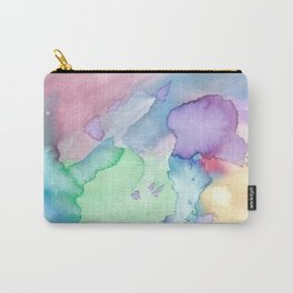 Bold watercolor Carry-All Pouch
