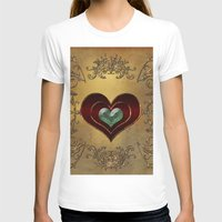 hearts T-shirts featuring Hearts by nicky2342