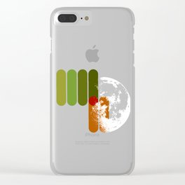 TRAPPIST-1 SYSTEM Clear iPhone Case