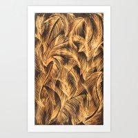 bleach Art Prints featuring bleach by  Ray Athi