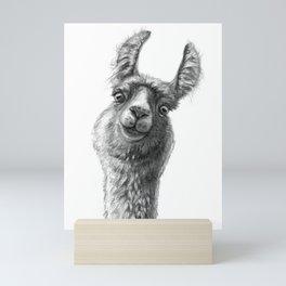 Cute Llama G135 Mini Art Print