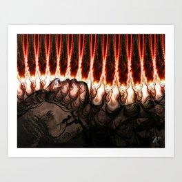 Bastet Art Print