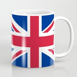 UK Flag, High Quality Authentic 3:5 Scale Coffee Mug
