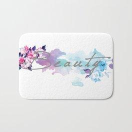 Floral Beauty Bath Mat
