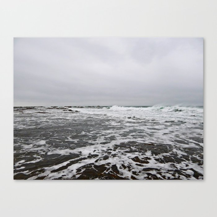 After the Wave Canvas Print