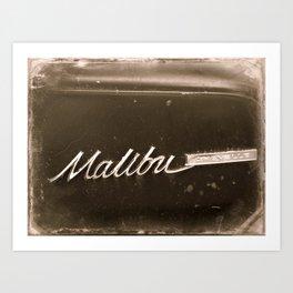 Malibu Chevelle Art Print