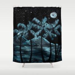 Hawaiian Moonshine Shower Curtain