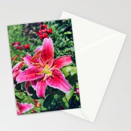 Stargazer Lily Stationery Cards