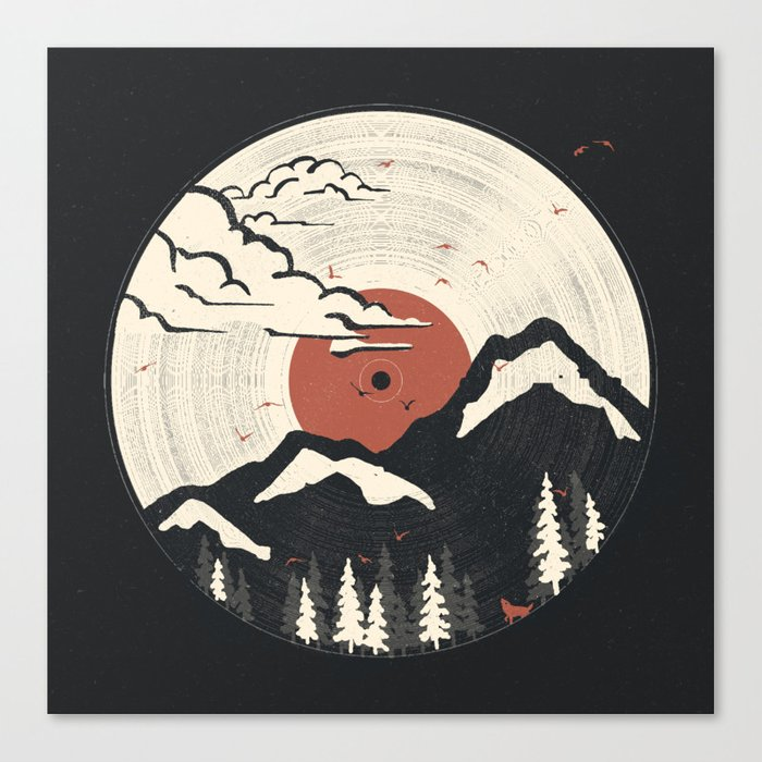 MTN LP... Canvas Print