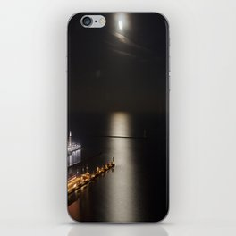 Navy Pier Moonlight iPhone Skin
