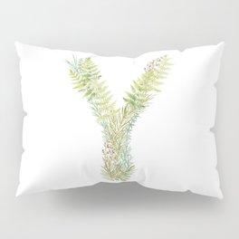 Initial Y Pillow Sham
