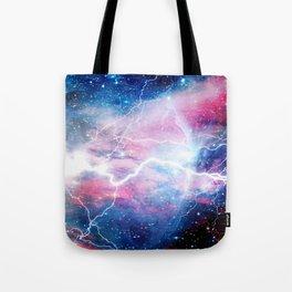Starred Lightning Tote Bag