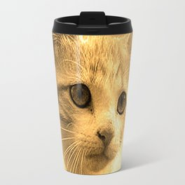 Baseball Kitten #1 Travel Mug