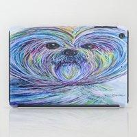 shih tzu iPad Cases featuring Purse Pup - Shih Tsu by EloiseArt