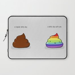 Shitty day Laptop Sleeve
