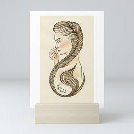 Fishtailed Mini Art Print