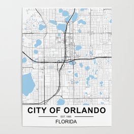 City of Orlando, Florida Poster