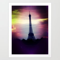 Colorful Tower Art Print