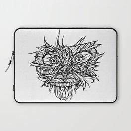 Face Flow Line Laptop Sleeve