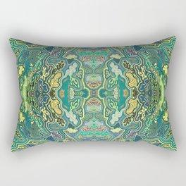 Tree Frog Orgy - Horizontal Rectangular Pillow