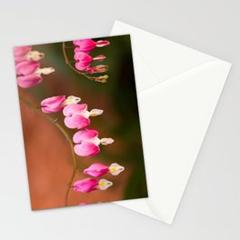 Bleeding Hearts Stationery Cards