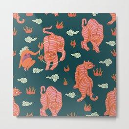 Circus pattern Metal Print