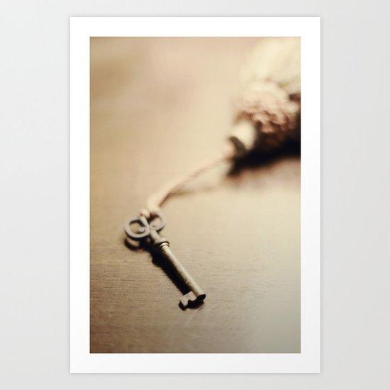 A Key.... Art Print