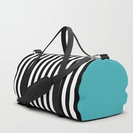 Liquorice allsorts, turqouise Duffle Bag