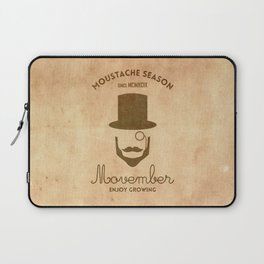 Moustache season Laptop Sleeve