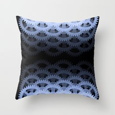OBEY THE COG Throw Pillow