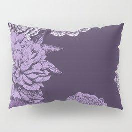 VIOLET FLORAL SYMPHONY Pillow Sham